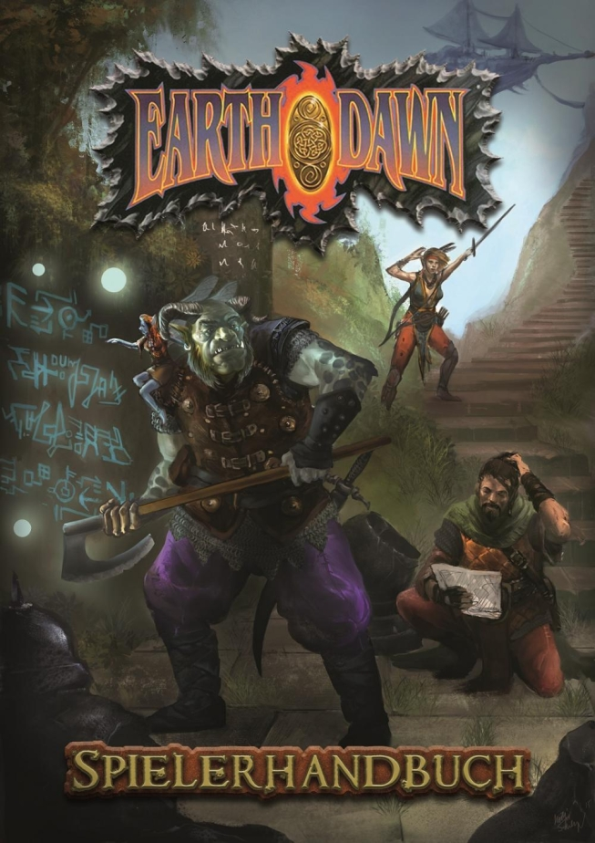 Earthdawn Spielerhandbuch - News