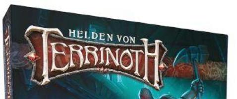 Helden von Terrinoth - Grundspiel - Ein kooperatives Abenteuerkartenspiel