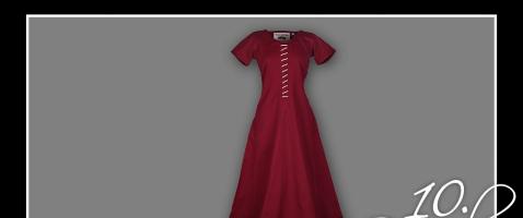 Gut gekleidet!  - Hinter dem 10. Türchen verlosen wir heute ein Mittelalterkleid Ava, zur Verfügung gestellt von Battle-Merchant.