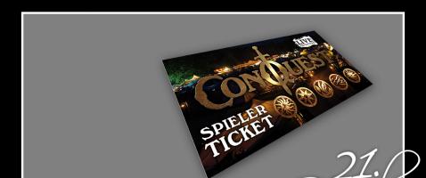 Auf nach Brokeloh!  - Hinter unserem einundzwanzigsten Türchen verlosen wir ein Ticket für das Großcon ConQuest 2020, zur Verfügung gestellt von Live Adventure.