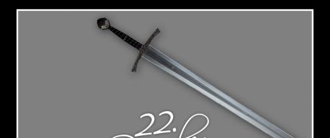 Attacke!  - Hinter unserem zweiundzwanzigsten Türchen verlosen wir Sir Radzig´s Schwert, zur Verfügung gestellt von Mytholon.