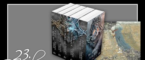 Mehr Lesefutter - Hinter unserem dreiundzwanzigsten Türchen verlosen wir alle fünf Bände der Hexer-Saga sowie eine Landkarte, zur Verfügung gestellt von dtv.