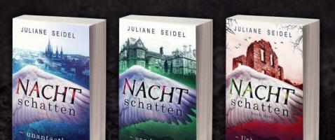 Nachtschatten - Gewinnt die komplette Jugendbuch-Trilogie!