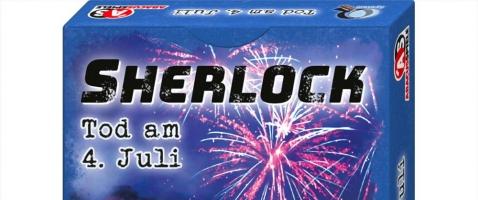 "Sherlock: Tod am 4. Juli - Gewinnt das Kartenspiel ""Sherlock: Tod am 4. Juli""!"