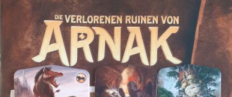 Die verlorenen Ruinen von Arnak      - Die Jäger*innen des verlorenen Schatzes