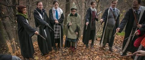 College of Wizardry: Nibelungen 2017 - Studienfibeln, Zauberstäbe und jede Menge Spaß