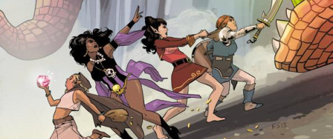 Rat Queens Vol. 1: Sass and Sorcery - Die Königinnen der Ratten