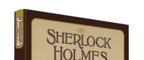 """Spiele-Comics: Sherlock Holmes - """"Die vier Fälle"""" und die """"Moriarty-Akte"""""""