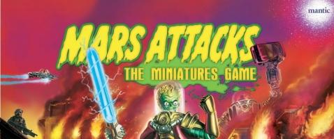 Mars Attacks – Das Miniaturenspiel - Sie kommen in Frieden – Ack! Ack!