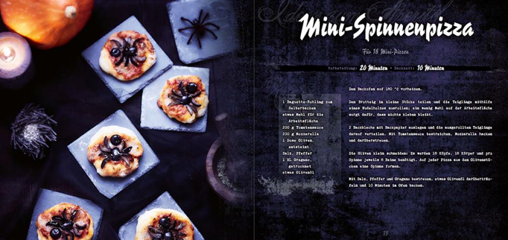 Spinnenpizza Rezept