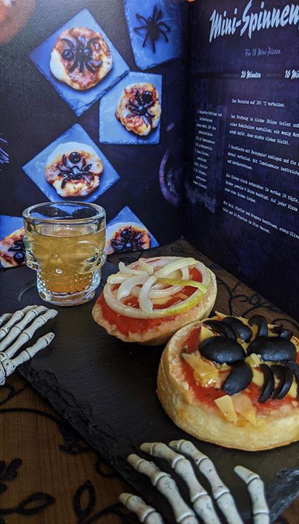 Spinnen-Pizza