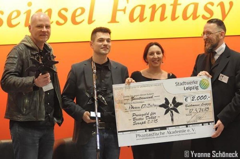 Seraph 2015 - Literaturpreis auf der Leipziger Buchmesse vergeben