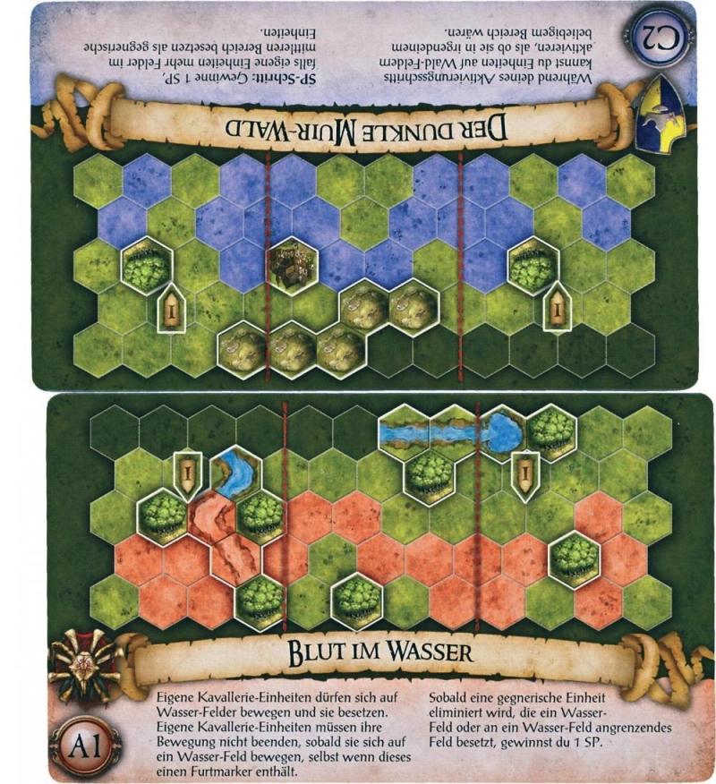 Karten bei BattleLore