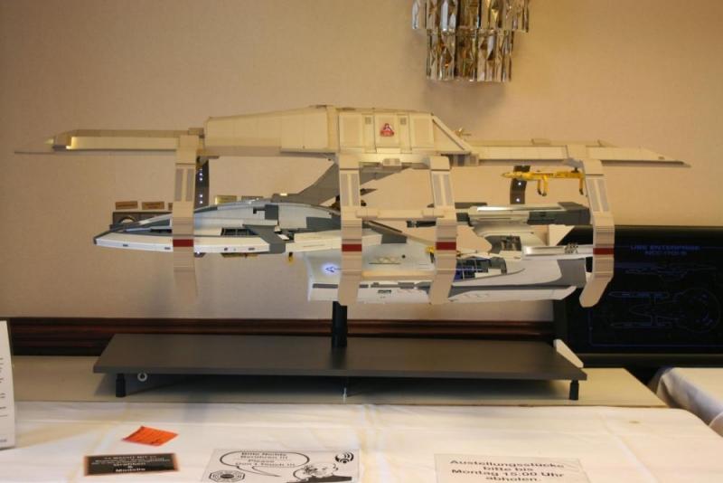 Modellbauwettbewerb Platz 1: Die Archer in der Werft