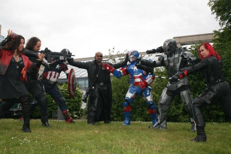 Nick Fury ist nicht begeistert über den Civil War!