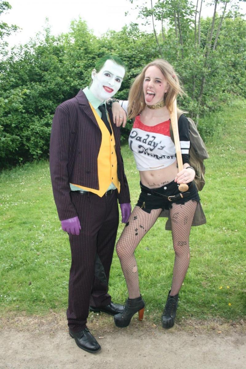 <i>Suicide Squad</i> läßt grüßen: Joker und Harley Quinn