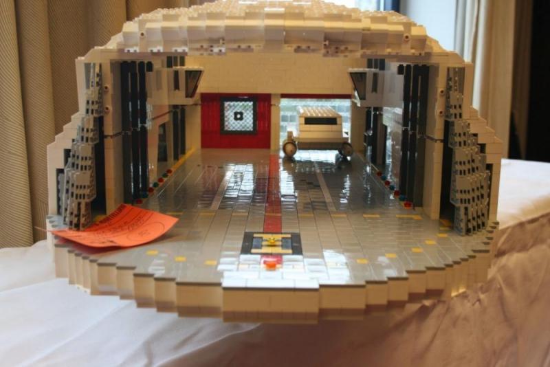 Auch Lego ist Modellbau – und obendrein eine Kunst, wenn es keine passende Anleitung gibt.