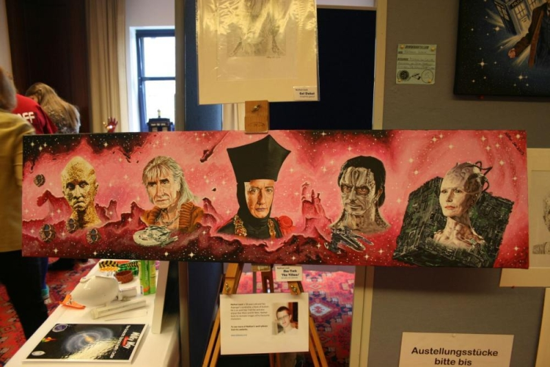 Kunstwettbewerb Platz 1: Star Trek Villans