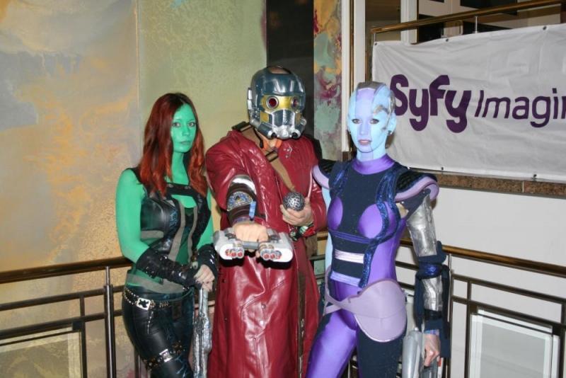 Audience Award Platz 2: Gamora, Starlord und Nebula