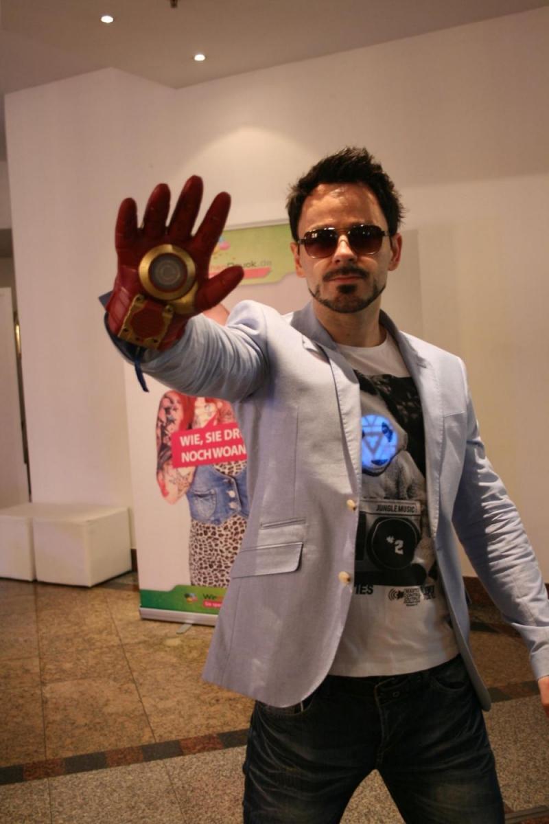 Ein wirklich großartiger Tony Stark, der seine Rolle nicht nur optisch ausfüllt.