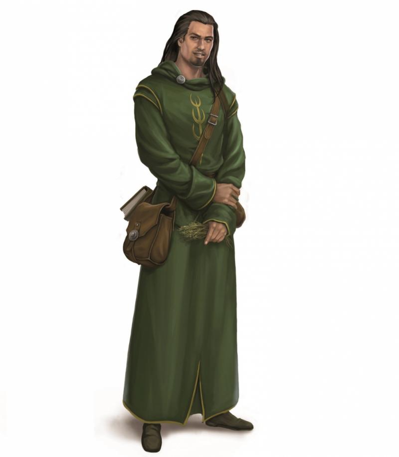 Perainegeweihter (Zeichnerin: Verena Biskup)