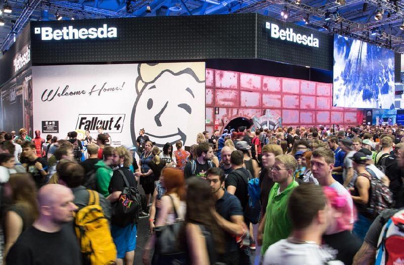 Vorfreude auf Fallout 4 – Foto: Koelnmesse
