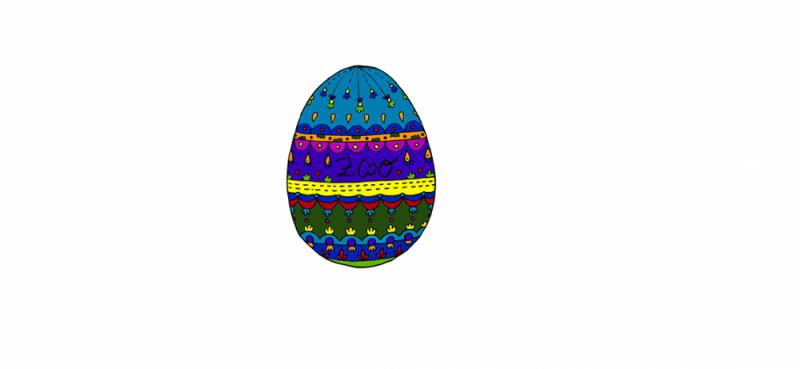 Diese Eier sind ab Donnerstag mitten in Rezensionen versteckt – also genauso wie dieses hier