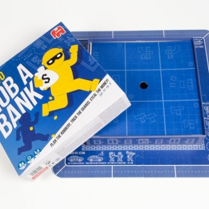Jumbo: How to Rob A Bank – Brettspiel - Bankraub in drei Runden