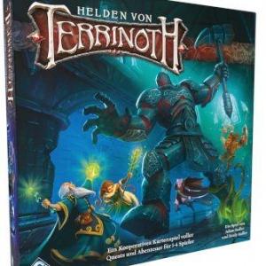 Helden von Terrinoth – Grundspiel - Ein kooperatives Abenteuerkartenspiel