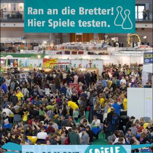 Stuttgarter Spielemesse 2017 (Vorschau) - Die hohe Kunst des Würfelns