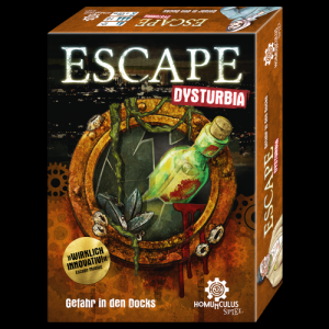 ESCAPE Dysturbia - Gefahr in den Docks - Entdeckt die Dystopie