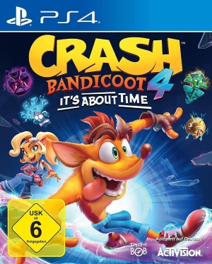 Crash Bandicoot 4: It's about Time - Knallharter Retro-Hüpfwahnsinn in der 2,5. Dimension