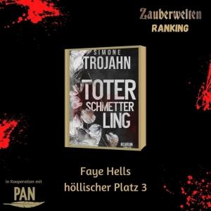 Faye Hells Platz 3: Toter Schmetterling - Der dritte Platz der höllischen Buchempfehlung
