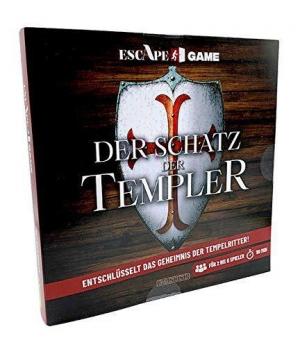 Escape Game: Der Schatz der Templer - Entschlüsselt das Geheimnis der Tempelritter!
