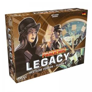 Pandemic Legacy Season 0  - Mission Weltrettung