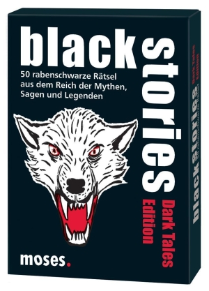 Black Stories – Dark Tales Edition - 50 rabenschwarze Rätsel