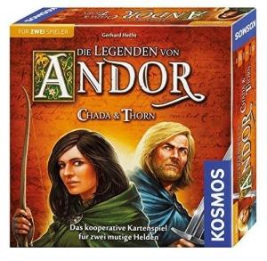 Die Legenden von Andor: Chada & Thorn - Zu zweit durchs Silberland