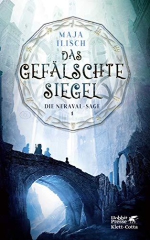 Das gefälschte Siegel: Die Neraval-Sage 1 - Ein trotziger Prinz, ein trinkender Fälscher, eine junge Magierin und ein verliebter Steinerner Wächter on tour.