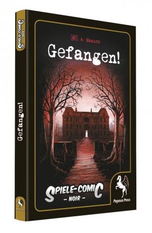Gefangen! - Spiele-Comic: Noir