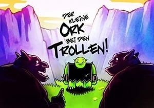 Der kleine Ork bei den Trollen - Vergnügliches Fantasy-Kinderbuch ab 4–6 Jahren
