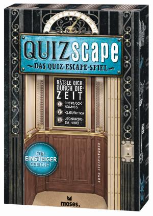 QUIZscape - Rätsle dich durch die Zeit - Erst quizzen, dann rätseln