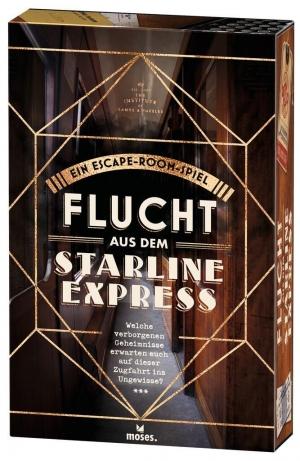 Flucht aus dem Starline Express - Mit Rätselspaß auf Diamantenjagd